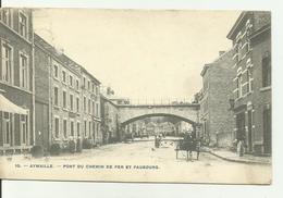 AYWAILLE  Pont Du Chemin De Fer Et Faubourg. - Aywaille