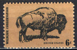 STATI UNITI - 1970 - PRESERVARE LA NATURA - BISONTE - MNH - Etats-Unis