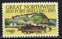 STATI UNITI - 1970 - 150° ANNIVERSARIO DEL FORTE SNELLING - MNH - Stati Uniti