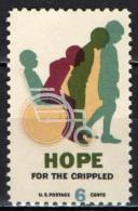 STATI UNITI - 1969 - AIUTO AGLI INFERMI - MNH - Stati Uniti