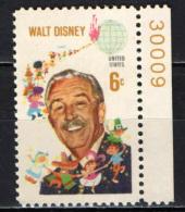 STATI UNITI - 1968 - WALT DISNEY - MNH - Stati Uniti