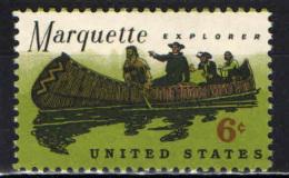STATI UNITI - 1968 - PADRE JACQUES MARQUETTE - SCOPRITORE DEL MISSISSIPPI - MNH - Stati Uniti