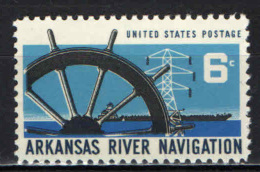 STATI UNITI - 1968 - NAVIGAZIONE SULL'ARKANSAS - MNH - Stati Uniti