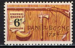 STATI UNITI - 1968 - DANIEL BOONE - TRAPPER - MNH - Stati Uniti