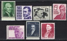 STATI UNITI - 1967 - PERSONALITA' DEGLI STATI UNITI D'AMERICA - MNH - Stati Uniti