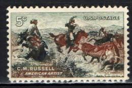 STATI UNITI - 1964 - CENTENARIO DELLA NASCITA DI CHARLES M. RUSSEL - MNH - Stati Uniti