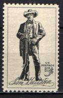 STATI UNITI - 1964 - CENTENARIO DELLA MORTE DI SAM HOUSTON - EROE TEXANO - MNH - Stati Uniti