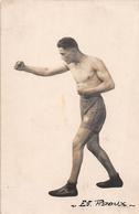 "¤¤  -  Carte-Photo Du Boxeur "" Ev. PIDOUX ""   -  Boxe , Sport -  ¤¤ - Boxe"