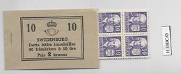 1938 MNH Booklet Mi 243DB (10 Pairs)  Sweden, Postfris - Boekjes