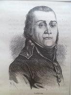 Gravure XIX° - Revolution Francaise  Empire  François Joseph LEFEBVRE Officier Général Français, Maréchal D'Empire - Estampes & Gravures