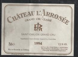 40 --etiquettes  Du Chateau Larosée De 1994 Saint EmilionGrand Cru - Vino Tinto
