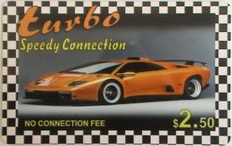 CANADA - Car, Turbo, MCI Prepaid Card $2.50 (white Reverse), Used - Canada