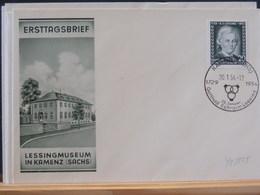 75/895  FDC DDR   1954 - [6] Oost-Duitsland