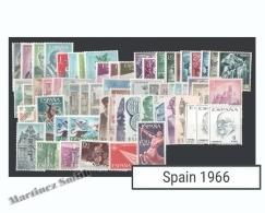 Complete Year Set Spain 1966 - 73 Values - Yv. 1358-1425 / Ed. 1696-1766, MNH - España