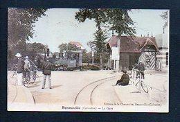 14 Bénouville  / La Gare / Reproduction !  Photo Copie Print - France