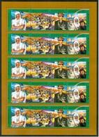 1994 Libia Libya Gheddafi 25th Anniversary Of The Revolution MNH** - Libya