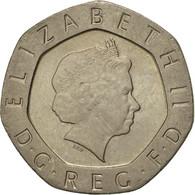 Monnaie, Grande-Bretagne, Elizabeth II, 20 Pence, 2001, TTB+, Copper-nickel - 1971-… : Monnaies Décimales