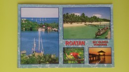 Cartolina HONDURAS - Viaggiata - Postcard - Roatan Bay Islands - Honduras