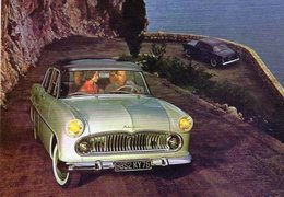 Simca Ariane  -  1959  -  CPM - Voitures De Tourisme
