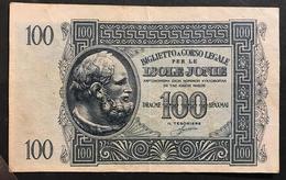 ISOLE JONIE 100 DRACME 1942 N.C. LOTTO 1781 - Unclassified