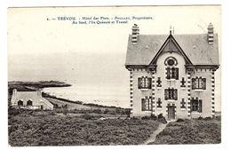 TRÉVOU (22) - Trévou-Tréguignec - Hôtel Des Flots - PEUILLET, Propriétaire - Au Fond, L'Ile Quénolé Et Trestel - France