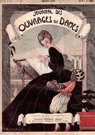 Journal Des Ouvrages De Dames - No 396 - 1921 - Broderie - Dentelle - Crochet - Tricot - Paris - Mode - Bruxelles - Books, Magazines, Comics