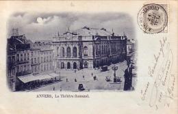 Anvers Le Théâtre Flamand Circulée En 1900 - Antwerpen