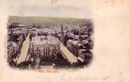 Spa Panorama Circulée En 1902 - Spa