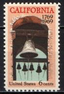 STATI UNITI - 1969 - BICENTENARIO DELLA COLONIZZAZIONE DELLA CALIFORNIA - MNH - Stati Uniti