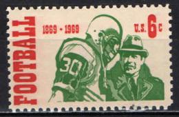 STATI UNITI - 1969 - CENTENARIO DEL FOOTBALL TRA I COLLEGE - MNH - Stati Uniti