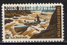 STATI UNITI - 1969 - CENTENARIO DELLA SPEDIZIONE JOHN WESLEY POWELL - GEOLOGO - FIUME COLORADO - MNH - Stati Uniti