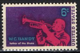 STATI UNITI - 1969 - W. C. HANDY - PADRE DEL BLUES - MNH - Stati Uniti