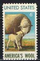 STATI UNITI - 1970 - MONTONE NORD AMERICANO - INDUSTRIA LANIERA AMERICANA - MNH - Stati Uniti