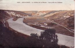 Bouvignes La Vallée De La Meuse Vue Prise Du Château Circulée En 191 ? - Dinant