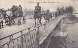 Cpa-49-angers-animée-pont De La Haute Chaine- Edi L.V. N°72 - Angers