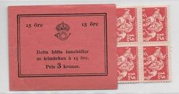 1932 MNH Booklet Mi 217  Sweden, Postfris - Boekjes