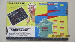 PUB. POUDRE DE LAIT SAINTE-ANNE DE CLAIX / DIGEST DE L'ECOLIER ... - Publicités