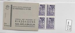 1935 MNH Booklet Mi 222  Sweden, Postfris - Boekjes