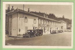 LES ECHARMEAUX : Hôtel Ramos, Garage Autos. 2 Scans. Edition Combier - Other Municipalities