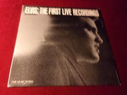 ELVIS  PRESLEY   °  THE FIRST LIVE RECORDINGS  33 TOURS 7 TITRES - Vinyl Records