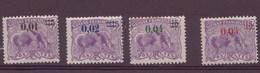 Guyane N° 91 à 94** - French Guiana (1886-1949)