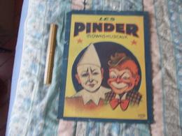 Affiche Cirque Pinder Les Clowns Musicaux - Posters
