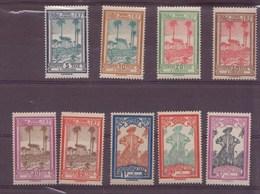 Guyane N° 13 à 21** TAXE - Guyane Française (1886-1949)