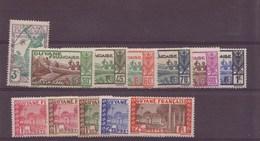 Guyane N° 157 à 168** - French Guiana (1886-1949)