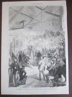 CARRIER-BELLEUSE   Gravure 1870   Atelier De Sculpture   15 Rue De La Tour D'Auvergne  Paris - Vieux Papiers
