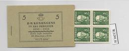 1938 MNH Booklet Mi 250  Sweden, Postfris - Boekjes