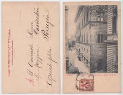 Siena - Convento Dell'Osservanza, Palazzo Piccolomini E Salimbeni, Ante 1906 - Siena