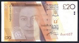Gibraltar - 20 Pounds 2011 - P37 - Gibraltar