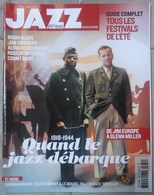JAZZ MAGAZINE N° 662 QUAND LE JAZZ DEBARQUE COUNT BASIE BRIAN BLADE TRèS RARE & BON ETAT - Musique