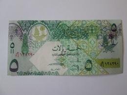 Qatar 5 Riyals 2008 Banknote - Qatar